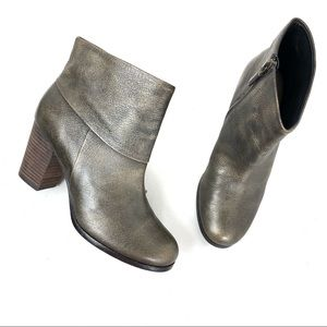 Cole Haan leather ankle boots Gray Size 5B